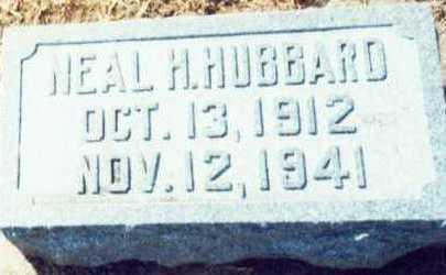 HUBBARD, NEAL HAMILTON - Pottawattamie County, Iowa   NEAL HAMILTON HUBBARD