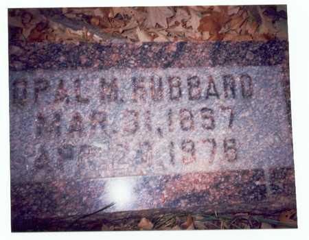 HUBBARD, OPAL M. - Pottawattamie County, Iowa | OPAL M. HUBBARD