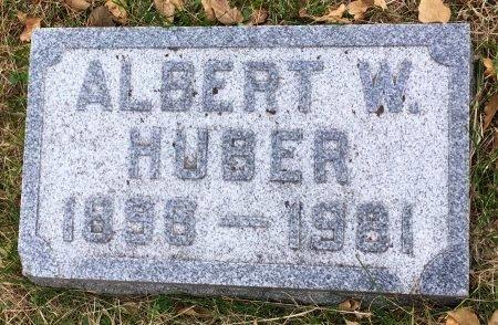 HUBER, ALBERT WILFORD - Pottawattamie County, Iowa | ALBERT WILFORD HUBER