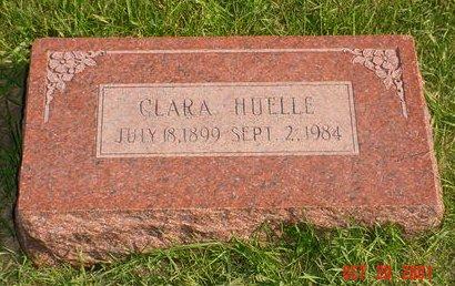 HUELLE, CLARA - Pottawattamie County, Iowa | CLARA HUELLE