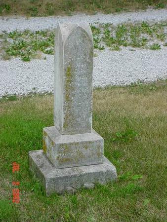 HUMPHREY, LEROY M. - Pottawattamie County, Iowa   LEROY M. HUMPHREY