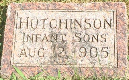 HUTCHINSON, INFANT SONS - Pottawattamie County, Iowa | INFANT SONS HUTCHINSON