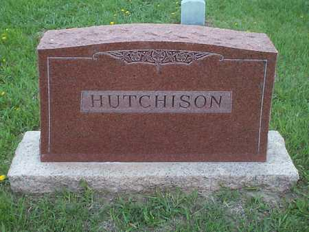 HUTCHISON, FAMILY MARKER - Pottawattamie County, Iowa | FAMILY MARKER HUTCHISON