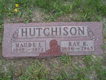 HUTCHISON, RAY R. - Pottawattamie County, Iowa | RAY R. HUTCHISON