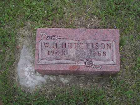 HUTCHISON, W. H. - Pottawattamie County, Iowa | W. H. HUTCHISON