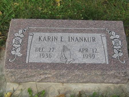 INANKUR, KARIN E. - Pottawattamie County, Iowa   KARIN E. INANKUR