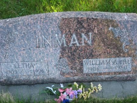 INMAN, WILLIAM A. (BILL) - Pottawattamie County, Iowa   WILLIAM A. (BILL) INMAN