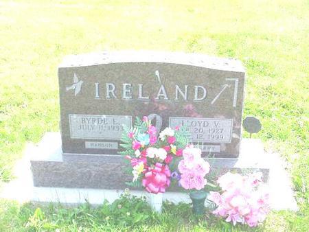 IRELAND, LLOYD V. - Pottawattamie County, Iowa | LLOYD V. IRELAND