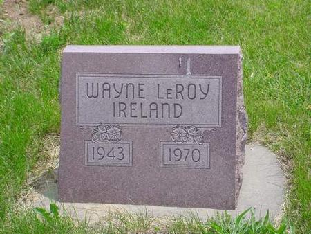 IRELAND, WAYNE LEROY - Pottawattamie County, Iowa | WAYNE LEROY IRELAND