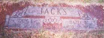 JACKS, HAZEL B. - Pottawattamie County, Iowa   HAZEL B. JACKS