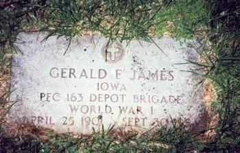 JAMES, GERALD F. - Pottawattamie County, Iowa | GERALD F. JAMES