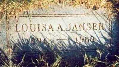 JANSEN, LOUISA A. - Pottawattamie County, Iowa | LOUISA A. JANSEN