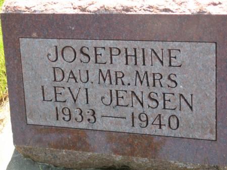 JENSEN, JOSEPHINE - Pottawattamie County, Iowa   JOSEPHINE JENSEN