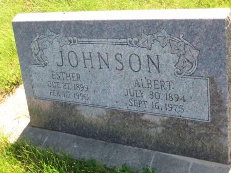 JOHNSON, ALBERT - Pottawattamie County, Iowa | ALBERT JOHNSON