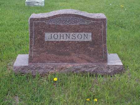 JOHNSON, FAMILY MARKER - Pottawattamie County, Iowa   FAMILY MARKER JOHNSON