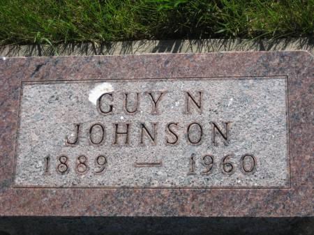 JOHNSON, GUY N. - Pottawattamie County, Iowa   GUY N. JOHNSON