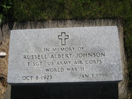 JOHNSON, RUSSELL ALBERT - Pottawattamie County, Iowa   RUSSELL ALBERT JOHNSON