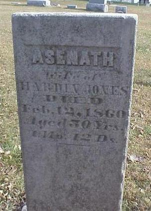 JONES, ASENATH - Pottawattamie County, Iowa | ASENATH JONES