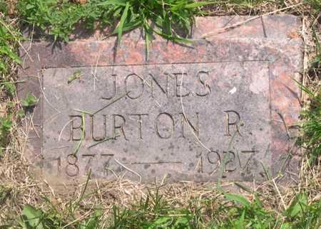 JONES, BURTON R. - Pottawattamie County, Iowa | BURTON R. JONES