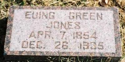 JONES, EWING (EUING) - Pottawattamie County, Iowa | EWING (EUING) JONES