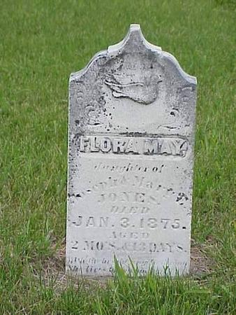 JONES, FLORA MAY - Pottawattamie County, Iowa | FLORA MAY JONES