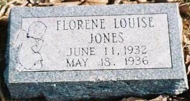 JONES, FLORENCE LOUISE - Pottawattamie County, Iowa | FLORENCE LOUISE JONES
