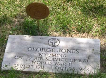 JONES, GEORGE - Pottawattamie County, Iowa   GEORGE JONES