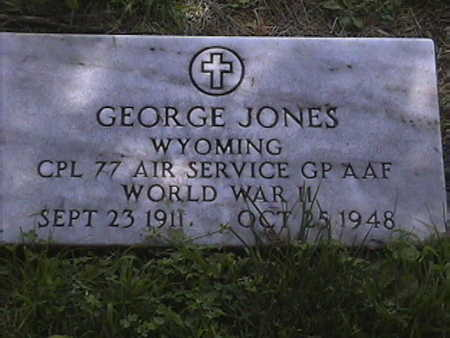 JONES, GEORGE - Pottawattamie County, Iowa | GEORGE JONES