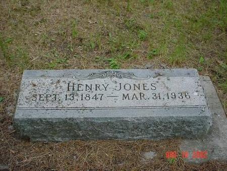 JONES, HENRY - Pottawattamie County, Iowa | HENRY JONES