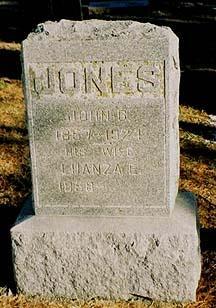 JONES, JOHN G - Pottawattamie County, Iowa | JOHN G JONES