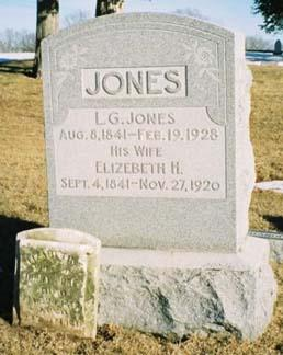 JONES, ELIZABETH H - Pottawattamie County, Iowa | ELIZABETH H JONES