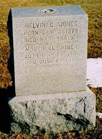JONES, MAE BELL - Pottawattamie County, Iowa | MAE BELL JONES