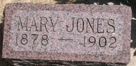 JONES, MARY - Pottawattamie County, Iowa | MARY JONES