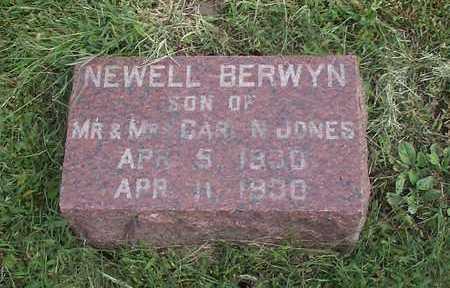 JONES, NEWELL BERWYN - Pottawattamie County, Iowa | NEWELL BERWYN JONES