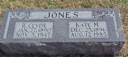 JONES, KATE M - Pottawattamie County, Iowa | KATE M JONES