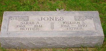 JONES, WILLIAM S - Pottawattamie County, Iowa | WILLIAM S JONES