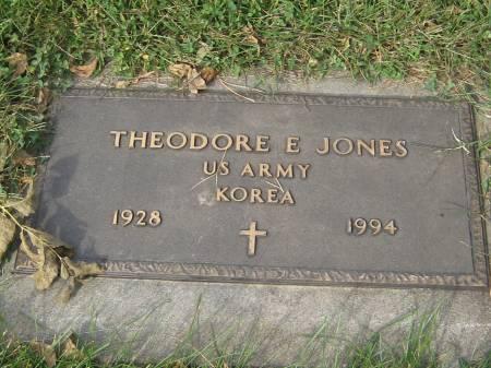 JONES, THEODORE - Pottawattamie County, Iowa | THEODORE JONES