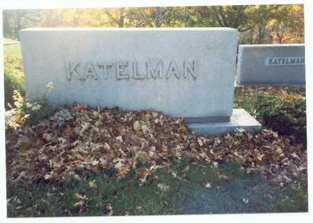 KATELMAN, FAMILY MARKER 2 - Pottawattamie County, Iowa | FAMILY MARKER 2 KATELMAN