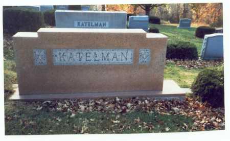 KATELMAN, FAMILY MARKER 3 - Pottawattamie County, Iowa | FAMILY MARKER 3 KATELMAN