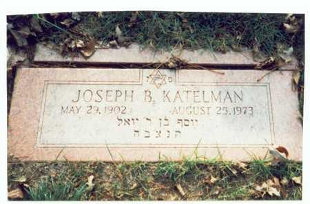 KATELMAN, JOSEPH B. - Pottawattamie County, Iowa   JOSEPH B. KATELMAN