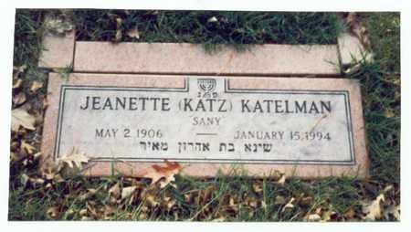 KATZ KATELMAN, JEANETTE