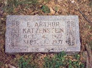 KATZENSTEIN, E. ARTHUR - Pottawattamie County, Iowa | E. ARTHUR KATZENSTEIN