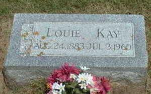 KAY, LOUIE - Pottawattamie County, Iowa | LOUIE KAY