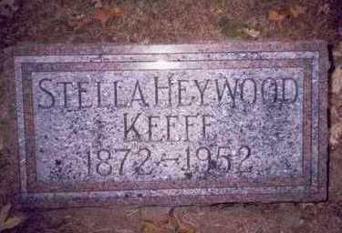 HEYWOOD KEEFE, STELLA - Pottawattamie County, Iowa | STELLA HEYWOOD KEEFE