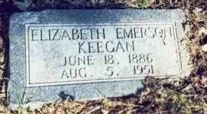 EMERSON KEEGAN, ELIZABETH - Pottawattamie County, Iowa | ELIZABETH EMERSON KEEGAN