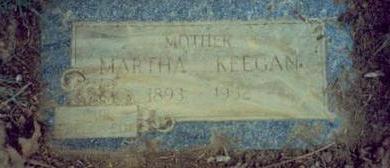 KEEGAN, MARTHA ETHEL - Pottawattamie County, Iowa | MARTHA ETHEL KEEGAN