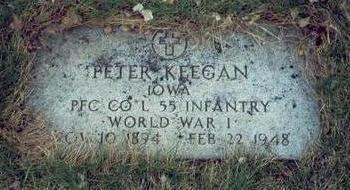 KEEGAN, PETER B. - Pottawattamie County, Iowa | PETER B. KEEGAN