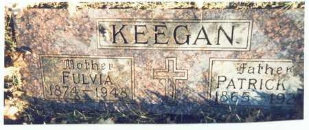 KEEGAN, FULVIA - Pottawattamie County, Iowa | FULVIA KEEGAN