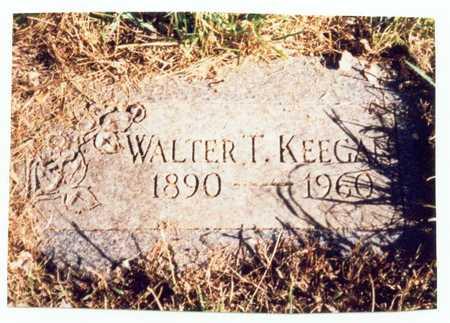 KEEGAN, WALTER T. - Pottawattamie County, Iowa | WALTER T. KEEGAN