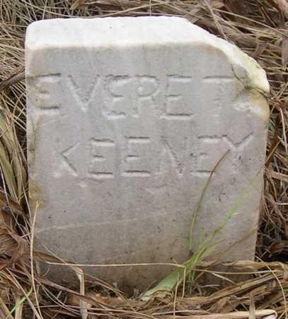 KEENEY, EVERET - Pottawattamie County, Iowa | EVERET KEENEY